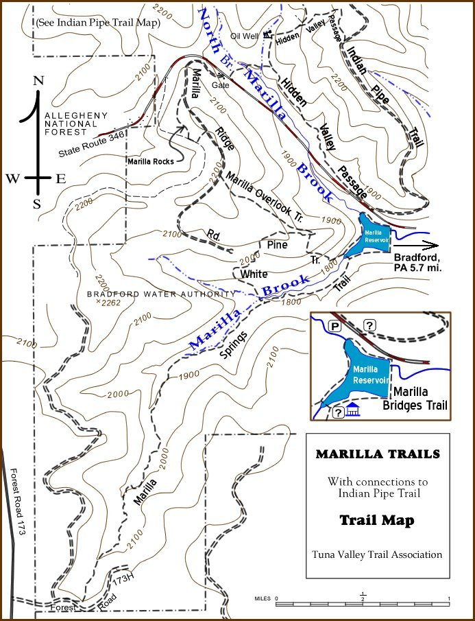 Download Maps Guides Allegheny National Forest Kinzua - Topo trail maps
