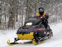 Snowmobiling in McKean County, PA