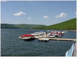 Kinzua Wolf Run Marina - Allegheny Reservoir
