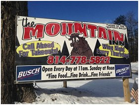 The Mountain Inn Bar & Grill - Clermont, PA