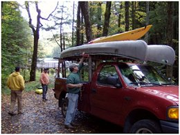 Kayaking and Canoeing at Marilla Reservoir
