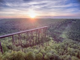 Photography on-site at Kinzua Bridge State Park