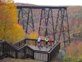 Kinzua Sky Walk (Autumn) - Mt. Jewett, PA