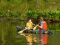 Canoes on Hamlin Lake - Smethport, PA