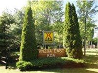 Kinzua East KOA Campground - Bradford, PA