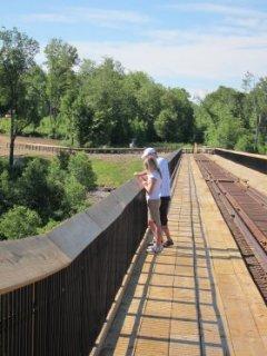 Kinzua Viaduct Sky Walk - Mount Jewett, PA