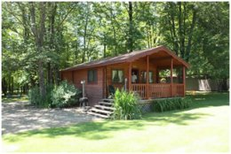 Accommodations at Forest Ridge Campground & Cabins - Marienville, PA