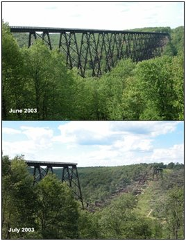 Kinzua Bridge State Park - Mt. Jewett, PA