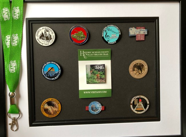 Collect all 10 Historic McKean County Pins!