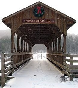 Marilla Bridges Trail - Bradford, PA